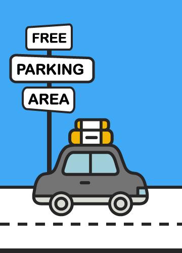 Parcheggio gratuito in struttura
